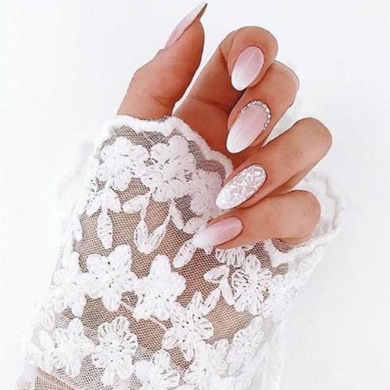 Manicure ślubny 2018 Extra Wesele